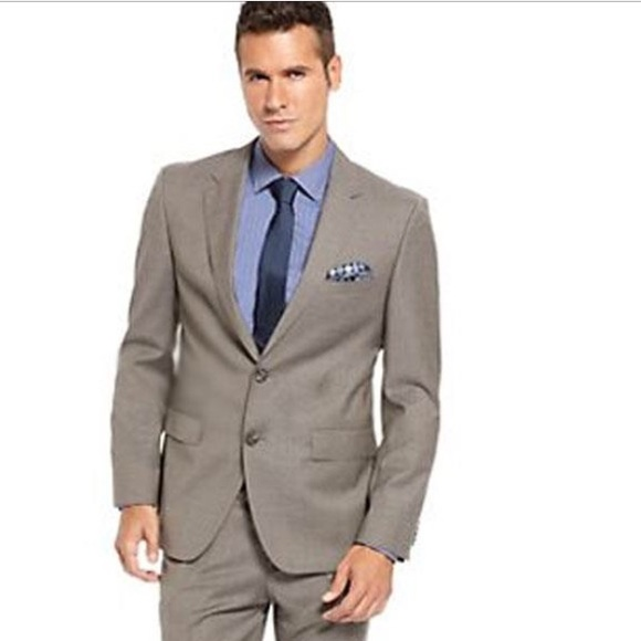 56ddb450b Hugo Boss Suits & Blazers | Pasolini Movie Suit In Taupe 42l M045 ...
